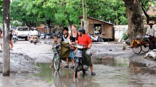 Burma - Regenzeit