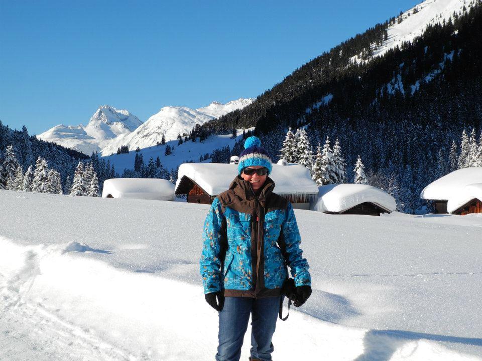 Snowboarding in Austria
