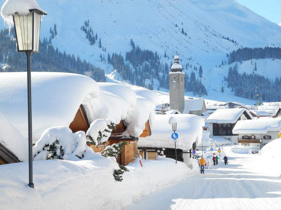 Lech am Arlberg, Austria
